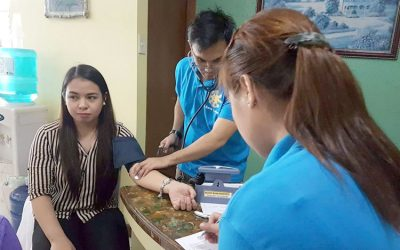 Blood Donation: Sagip Buhay Held in NCBA Cubao