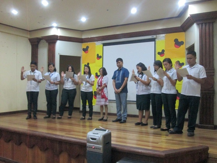 NCBA Taytay Induction of Officers (College 2017)