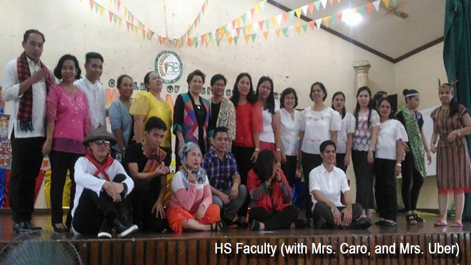 NCBA Cubao HS Department Linggo ng Wika 2017