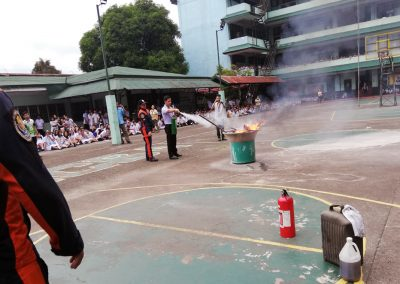 Fire Suppression Drill - NCBA Cubao