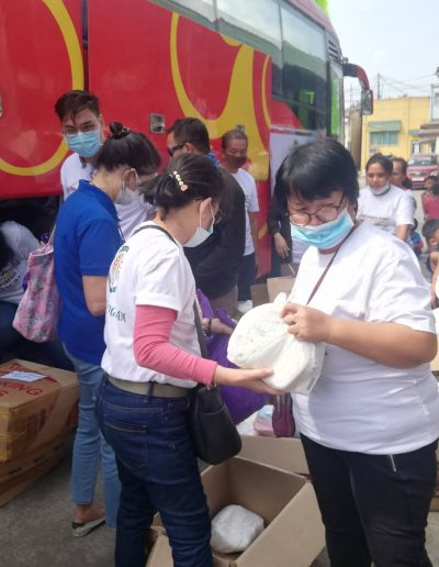 #BangonBatangas - NCBA Relief Goods Operation