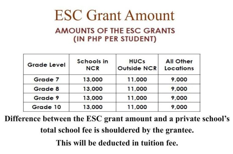 ESC Grant Table